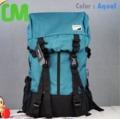 "- Lifetotem Japan Designed รุ่น Backpack Bone (สีฟ้าทะเล)   รหัสสินค้า : BC-L1345Aqua Material : Nylon Price : 1,150฿ Free ems Links : http://www.shophipz.com/product/604  - กระเป๋าทรงสวย แบบสวยทันสมัยจ้า กระเป๋าก้นกว้าง   ทำให้มี Space ใส่ของ/เสื้อผ้าได้เยอะค่ะ - ใส่ NoteBook ได้ ถึง 14"" - ผ้าไนลอนคุณภาพ+ซิบไนลอน รูดง่าย  - ด้านในมีช่องซิบใหญ่ 1 ช่อง และช่องใส่ Notebook,หนังสือ + ช่องใส่ขวดน้ำข้างกระเป๋า - สะพายได้ทั้ง ผู้ชาย และ ผู้หญิง เพราะสีไม่หวานจนเกินไป - Size : H50*W32*D18(ก้นหนา(CM)"