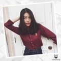 "Hellooo Monday with a nice girl 😊 Thank you K.@wawow for supporting na ka.  Malongze Lion  Colour : Carmine  Price : 950 ฿ Fabric : 100% cotton  Size Guide  XS : W36"" L27"" S : W38"" L28"" M : W40"" L29"" L : W42"" L30"" XL : W44"" L31""  Order via line : foamzioiz"