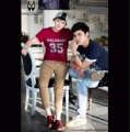 From 590฿ to 390฿  Color : navy / red  Size : SS/S/M/L  Line :: foamzioiz
