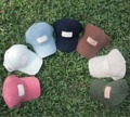 smthsimple cap Unisex multicolor cap with leather label and adjustable strap.  Material: cotton, nylon lining, leather label  Size: free size  Color: multicolor  หมวกแก๊ปผ้าคอตตอนหลากสี ปรับขนาดด้านหลังได้   *สอบถามสีก่อนกดซื้อ