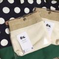 กระเป๋าสะพายข้างผ้าแคนวาสหนาแต่งด้วยผ้ากระสอบเคลือบ สายหนังฟอกฟาดค่ะ #กระเป๋า #bag #lapin #leather #กระเป๋าสะพายข้าง #lapindesigns
