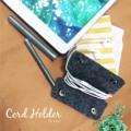 Cord Holder by lapin #madetoorder #cordholder #handmade #lapindesigns #เก็บสายหูฟัง #เก็บสาย #minimal #fashion #สายหูฟัง  #lapindesigns
