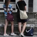 ➖ Shoulder bag ➖ *new size* ✔️ Maroon Red 🔴 ✔️Sand 🔶 ✔️Prussian blue 🔵 -  **สายกระเป๋าสามารถปรับความยาวได้**  💲300 Bath & Free register ** Oder via 📲 (LINE : benbenzzbbz)  #Bag #totebag #Shoulderbag #red #blue