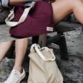 ➖ Shoulder bag ➖ *new size* ✔️ Maroon Red 🔴 ✔️Sand 🔶 ✔️Prussian blue 🔵 -  **สายกระเป๋าสามารถปรับความยาวได้**i  💲300 Bath & Free register ** Oder via 📲 (LINE : benbenzzbbz)  #Bag #totebag #Shoulderbag #red #blue #sand