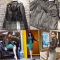 """Hd0599 💖💖ของมาแล้วจ้าา💖💖  Leather Jacket  แจคเกตหนัง แต่งหมุด เย็บไหล่  แบบ K. ชมพู่ อารยา  K. ปอย ตรีชฎา K. ญาญ่าญิ๋ง K. มิ้นด์ ชาลิดา ดีเทลกริ๊บ  งานหนังเนื้อดี 👌👌 ใส่คลุมหนาวนี้สวยเท่ห์มากค่า อก 38"""" ยาว 22"""" ราคา 690฿ #toeylomo"""
