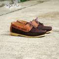 ถ้าถามว่าสีไหนเข้ากับเสื้อผ้าได้ง่าย?  ขอแนะนำสีน้ำตาลเข้ม...  Code : 213 Boat-Shoe Leather : Suede (หนังวัวแท้) Size : 36-47 ราคา 990 บาท ( พร้อมส่งฟรี )  ** สินค้ามีจำนวนจำกัด ** #Shoe #StepPro