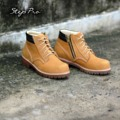 """"""" ถ้าหัวเหล็ก จำเป็นต่อการใช้งาน """"  Code : 935 Steel Toe (หัวเหล็ก) Leather : Nubuck ( Water Proof) Size : 35-47 ราคา 2990 บาทพร้อมส่งฟรี ( สินค้าจัดโปรโมชั่น )  สนใจสินค้า กดเบาๆ ที่นี่ http://line.me/ti/p/%40steppro  หรือ Tel : 081-8726-499 - โดดเด่นที่ Design ซิบข้าง เพื่อง่ายต่อการสวมใส่ - หัวเหล็ก ทำให้การใช้งานเป็นแบบ All in one - หนังนูบัคชนิดหนาแบบ 3 มม. ชนิด Water Proof - พื้นยางดิบชนิดหนา กันความร้อนได้ดี เย็บพื้น - ภายในบุหนังแท้ 100% - สินค้ารับประกันหนังแท้ 100% ดูแลตลอดอายุใช้งาน  หรือสนใจเดินทางมาดูสินค้าได้ที่ * หน้าร้าน : ร้าน StepPro ยูเนี่ยนมอลล์ ชั้น G ( UM1-24) ไกล้ ธ. กรุงไทย ( ตรงห้าแยกลาดพร้าว MRT สถานีพหลโยธิน ออกประตู 5) * หน้าร้าน : ร้าน StepPro ยูเนี่ยนมอลล์ ชั้น F3 ( G08-09 )ไกล้ ร้านไอศครีม Dairy Queen * หน้าร้าน : ร้าน StepPro ฟิวเจอร์พาร์ครังสิต ชั้น 3 โซนวงกลม หน้า สเวนเซ่นส์  #StepPro #รองเท้า #StepPro"""
