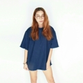 Denim Tee (oversize) made by Dot to Dot 33 ● -> ● ||| |||