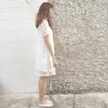 See through Dot mini dress