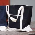 กระเป๋าผ้าแคนวาส + ผ้าดิบ สายผ้า มีซับกระเป๋าด้านใน มีกระเป๋าเล็กด้านหน้า Colur :  ดำ Size : 18*16 inch Price : 300.- Line : itsyours_s #itsyours
