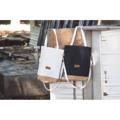 กระเป๋าผ้า+ผ้าก๊อก มีสายสะพาย 2 สาย มีซับกระเป๋าด้านใน Size : 14*18 inch Price : 250.- Line : itsyours_s #itsyours