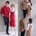 "🐝 Lanios Couple 🐝     - แฟชั่นงานเซ็ทคู่รัก เอี้ยมผ้าลูกฟูกกระดุมหน้า งานผ้าอย่างดี  - เซ็ทนี้มี 2 ชิ้น 1. เชิ้ต 2. เอี้ยม  - งานมี 2 สี : สีน้ำตาล                 : สีแดง - Color 2  : Brown tone                 : Red tone  - ขนาด ผู้ชาย : เอ็ม แอล           ผู้หญิง : ฟรีไซส์ - Size Man : M L      Woman : Free size       อก ( chest ) : 34""      เอว ( waist ) : Free""      สะโพก ( hip ) : Free""      ยาว ( length ) : 37""     - ราคาเซ็ทละ 1150 #22kloset"