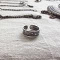 แหวนนิ้วเท้า หรือ แหวนใส่นิ้วก้อย เป็นเงินแท้ค่า #แหวนอวกาศ #cchershop