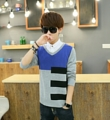 เสื้อแขนยาว Sweater แฟชั่นเกาหลี ราคา 590 บาท  สินค้าพรีออเดอร์ รหัส KA157 ไม่มีวันปิดรอบ สั่งซื้อได้ทุกวัน รอสินค้า 15-20 วัน ดู Size ได้ที่ http://www.kjfashionstyle.com/product/2964/ ค่าจัดส่งสินค้า ลงทะเบียน ตัวแรก 30 ตัวถัดไปเพิ่ม 10 บาท แบบ EMS ตัวแรก 50 ตัวถัดไปเพิ่ม 15 บาท  สนใจสั่งซื้อได้ทุกช่องทาง #Line@ : http://line.me/ti/p/%40rwq6084q #LINESHOP : https://shop.line.me/app/shop/end?shopId=42444 #Fanpage: http://www.facebook.com/fashionstyle.kj เว็บไซต์ : http://www.kjfashionstyle.com  #เสื้อผ้าผู้ชาย #เสื้อแจ็คเก็ต #เสื้อแจ็คเก็ตแฟชั่น #เสื้อแจ็คเก็ตผู้ชาย #เสื้อผ้าแฟชั่น #เสื้อ #แจ็คเก็ต #men #jackets #sweaters #ผู้ชาย #KJFashionStyle