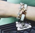 ThreeCorner in White, Made with Swarovski Elements #accessories #jewelry #decoration #swarovski #ring #earring #bracelet #necklace #sliver #crystal #diamond #gem #pearl #sparkinggem #pandora #charm #powerstone #stone #luckystone #armparty