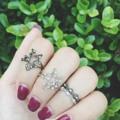 'Star Rings' ใส่ได้ทั้งแบบข้อนิ้วและแบบแหวนปกติ & 'Little Finger'🌟 Line: risara.jewels  #accessories#jewelry#decoration#swarovski#ring#earring#bracelet#necklace#sliver#crystal#diamond#gem#pearl#sparkinggem#pandora#charm#powerstone#stone#luckystone#brandname