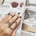 Popular items! #accessories #jewelry #decoration #swarovski #ring #earring #bracelet #necklace #sliver #crystal #diamond #gem #pearl #sparkinggem #pandora #charm #powerstone #stone #luckystone