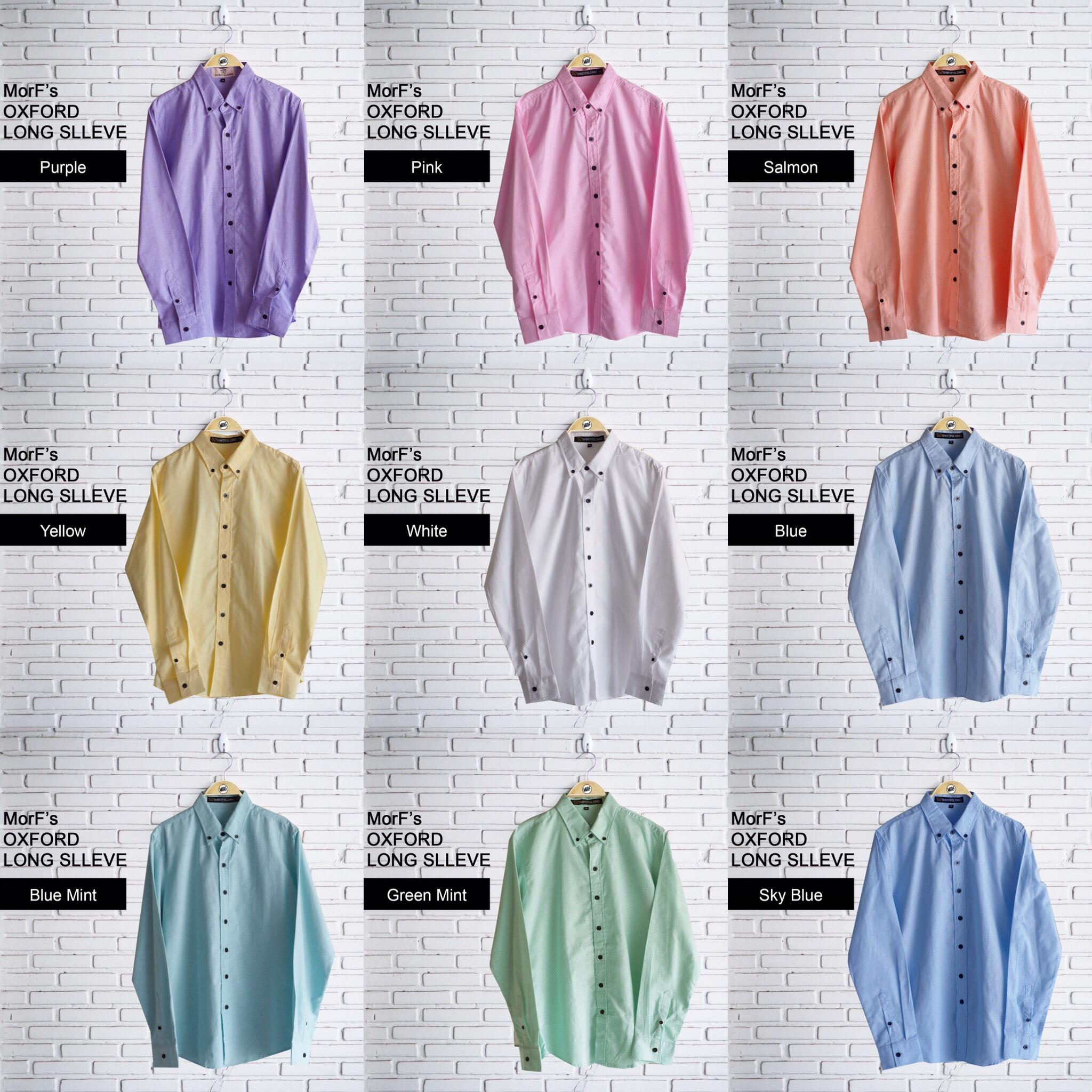 เสื้อเชิ้ต,เสื้อทำงาน,เสื้อไปงานแต่ง,พาสเทล,pastel,สี,Basic,morf_clothes
