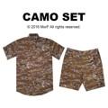 """Camo Set  เซท เสื้อเชิ้ตแขนสั้น กางเกงขาสั้น สไตล์ญี่ปุ่น ซื้อเป็นเซ็ทถูกกว่าน้า   Camo Shirt เสื้อเชิ้ตแขนสั้น ลายพราง Price: 590฿ S ไหล่ 16"""" รอบอก 38"""" M ไหล่ 17"""" รอบอก 40"""" L  ไหล่ 18"""" รอบอก 42"""" XL ไหล่ 19"""" รอบอก 44""""  Camo Shorts กางเกงขาสั้น ลายพราง Price: 490฿ S - รอบเอว 30"""" ความยาว 17.5"""" M - รอบเอว 32"""" ความยาว 18"""" L - รอบเอว 34"""" ความยาว 18"""" XL - รอบเอว 36"""" ความยาว 18""""  #ลายทหาร  #camo #morf_clothes"""