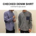 """Checked Denim Shirt เสื้อเชิ้ต ลายสก็อต แขนยาว แต่งยีนส์  มี4สีค่ะ (แดง,น้ำเงิน,เขียว,ดำ)  Size: S,M,L,XL  S ไหล่ 16"""" รอบอก 38"""" ยาว 29""""  M ไหล่ 17"""" รอบอก 40"""" ยาว 30""""  L ไหล่ 18"""" รอบอก 42"""" ยาว 31""""  XL ไหล่ 19"""" รอบอก 44"""" ยาว 32""""   สอบถามรายละเอียดเพิ่มเติมได้นะคะ  แอดมินยินดีตอบทุกคำถามค่า ^^  Instagram:  instagram.com/morf_clothes  Facebook:  www.facebook.com/morf.clothes #Checked Denim Shirt เสื้อเชิ้ต ลายสก็อต แต่งยีนส์   #morf_clothes"""