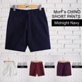 """Basic Shorts  กางเกง Chino ขาสั้น  ตัดเย็บจากผ้าชิโน่ ทรงสวย สวมใส่สบาย คล่องตัว มีให้เลือกหลากหลายเฉดสี มิกซ์แอนด์แมชง่าย เข้าได้กับทุกลุค สามารถหยิบมาใส่ได้เสมอๆ เป็น must have item ที่ทุกคนควรจะมีติดตู้เสื้อผ้าไว้ค่ะ   S - รอบเอว 30"""" ความยาว 17.5"""" M - รอบเอว 32"""" ความยาว 18"""" L - รอบเอว 34"""" ความยาว 18"""" XL - รอบเอว 36"""" ความยาว 18""""  สอบถามรายละเอียดเพิ่มเติมได้นะคะ  แม่ค้ายินดีตอบทุกคำถามค่า ^^  Instagram:  instagram.com/morf_clothes  Facebook:  www.facebook.com/morf.clothes  #chino #ขาสั้น  #morf_clothes"""