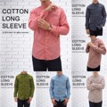 """มาแล้วค่า 6สีมาใหม่   Cotton Long Sleeve Shirt เสื้อเชิ้ตแขนยาว ทรงสลิมฟิต ตอนนี้มีให้เลือกถึง19สีแน่ะ ตัดเย็บจากผ้าคอตต้อน100% คลาสสิค ดูดี มีสไตล์ จะใส่เป็นทางการ ไปทำงาน ใส่เที่ยวก็ดี ใส่เป็นคู่ก็น่ารักค่า   Price: 490฿  Size: S,M,L,XL  S - Chest 38"""" Length 29"""" M - Chest 40"""" Length 30"""" L - Chest 42"""" Length 31"""" XL - Chest 44"""" Length 32""""  สอบถามรายละเอียดเพิ่มเติมได้นะคะ  แอดมินยินดีตอบทุกคำถามค่า ^^  Instagram:  instagram.com/morf_clothes  Facebook:  www.facebook.com/morf.clothes  #เสื้อเชิ้ต #เสื้อทำงาน #เสื้อไปงานแต่ง #สีชมพู #สีโอรส #pastel #พาสเทล #morf_clothes"""