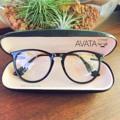 AVATA กรอบดำ แข็งแรง สามารถนำไปเปลี่ยนเลนส์สายตาได้ Price 390.- | พร้อมกล่องแว่นและผ้าเช้ดเลนส์อย่างดี สนใจติดต่อ add line :  kubotaz  #vintage #glasses