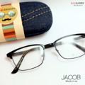 JACOB แว่นทรงเหลี่ยมกรอบบาง  เนื้อเหนียว..        ตัวแว่นสามารถนำไปเปลี่ยนเลนส์สายตาได้ Price 390.- ส่งฟรี! | พร้อมกล่องแว่นอย่างดีและผ้าเช็ดเลนส์   สนใจสั่งซื้อ Add LINE : @Kubotaz ( ใส่ @ ด้วยน้า หรือ คลิ๊ก 👉 http://line.me/ti/p/%40kubotaz   :: SIZE 55-17-132 :: #JACOB #ggeeglasses