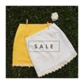 "SALE SALE SALE  Best chance to grab ""Miss Daisy Skirt"" for 450 Baht Free EMS Size: S/M  Color: white/Yellow  โอกาสดีสำหรับสาวๆ มาถึงแล้ว ""Miss Daisy Skirt"" Sale 450 บาท รวมส่ง EMS สินค้ามีจำนวนจำกัดนะคะ สนใจสอบถาม/สั่งซื้อ ทักมาหาแม่ค้าเลยน๊า แวะมาพูดคุยกันก่อนได้ค่า 🆔missdaisy3 #missdaisy #missdaisyskirt #sale"