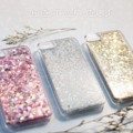 Glitter wink hard case - i5/5s , i6/6s - pink , blue , silver , gold - price 350.- #Glitter wink case #somehow