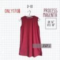 📍 เดรส D01 PROCESS MAGENTA 📍 ผ้า cotton เดรสสบายๆ ชิวๆ🎉 ราคา : 170฿ จัดส่ง : reg 30 l ems 50 ตัวต่อไปตัวละ 10 line : http://bit.ly/2496U9J  #Dresses #เดรส process magenta #jewy.j