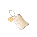 พวงกุญแจผ้าพิมพ์ลายแพทเทิร์นหิน ด้านหลังเป็นผ้าหนังกลับสีน้ำตาล สำหรับห้อยกระเป๋า ถุงผ้า โทรศัพท์ ฯลฯ  Size : 6 x 6 x 4 cm. Material : Printed cotton with polyester | Handmade    Designed by Studioflamingo Co.,Ltd  Contact Us LINE ID: @studioflamingo IG: @studioflamingostore FB: www.facebook.com/studioflamingostore WEB: www.studioflamingostore.com TEL: 095-869-0959