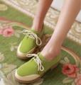 รองเท้าOXFORDผู้หญิง สวมแนวโลฟเฟอร์ผ้าใบแฟชั่นเกาหลี นำเข้าไซส์34ถึง43 - พรีออเดอร์RB2272 ราคา1450บาท หนังกลับแบรองเท้าผ้าใบเท่ๆเป็นรองเท้าผู้หญิงแบบสวมทันสมัยรุ่นใหม่ล่าสุด พื้นรองเท้ามีรอยหยักเดินง่ายเกาะพื้นถนนสไตล์แบรนด์เนมชั้นนำ จะใส่เป็นรองเท้าสวม รองเท้าแฟชั่น สไตล์วินเทจ รองเท้าใส่สบายใหม่ๆเก๋ ใส่ง่ายเดินคล่อง สามารถสั่งซื้อได้ที่เว็บขายรองเท้าแฟชั่นที่ร้าน LOTUSNOSS ร้านจำหน่ายรองเท้าOXFORDผู้หญิง รองเท้าโลฟเฟอร์ใส่สบาย แบบรองเท้าสวมเพื่อสุขภาพเท้าแฟชั่น เปิดมิติใหม่แห่งการช้อปปิ้งและแบบสวยก่อนใครต้องรองเท้าแฟชั่นเกาหลีร้านโลตัสโนสสค่ะ ส้นสูง : 4 ซม. วัสดุ : Matted PU สี : ครีม/เหลือง/ชมพู/เขียว โทรสั่งของกับ พี่โน๊ต/พี่เจี๊ยบ : 083-1797221 และ 086-3320788 LINE User ID : @WIE6609Y และ lotusnoss และ lotusnoss.com เว็บไซต์ WWW.LOTUSNOSS.COM #รองเท้าส้นเตี้ย #รองเท้าโลฟเฟอร์ #รองเท้าแฟชั่น #รองเท้าOXFORD #รองเท้าผ้าใบ