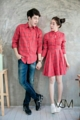 "🍒Denover Couple🍒     - แฟชั่นงานเซ็ทคู่รัก เดรสกี่เพ้าลายตาราง งานผ้าอย่างดี  - เซ็ทนี้มี 2 ชิ้น 1. เชิ้ต (shirt) 2. เดรส (dress)  - งานมี  : สีเดียว - Color : One color  - ขนาด ผู้ชาย : เอ็ม แอล             ผู้หญิง : ฟรีไซส์ - Size Man : M L      Woman : Free size            อก ( chest ) : 34""       เอว ( waist ) : 28""       สะโพก ( hip ) : Free""       ยาว ( length ) : 32""  -"