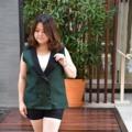 อก 42  เอว 40 วงแขน 22 ยาว 26 นิ้ว  #Vest Suit สีเขียวเข้ม #cherrysom