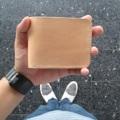Burum Handcraft กระเป๋าหนังวัวแท้เกรด A แท้ 100% งานคุณภาพที่ผ่านการทำด้วยมือ ตัดเย็บปราณีต ด้วยความใส่ใจในทุกรายละเอียด ทุกขั้นตอน  Vegtan leather Color natural -1 Full size bill slot -6 card slots -2hiden slot -Size 11.5x9 cm.  #wallet #leather # หนังฟอกฝาด #Borumhandcraft # กระเป๋าหนังแท้