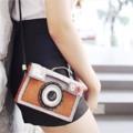 กระเป๋าแฮนด์เมด สไตล์วินเทจ ดีไซน์รูปกล้อง ทำจากผ้าสักหลาด ไม่ตกเทรนด์แน่นอน เย็บมือทุกใบ สำหรับสาวกงาน handmade ห้ามพลาด!  ขนาด 5x16.5x10.5 cm.  ** สั่งซื้อออนไลน์ราคาพิเศษติดต่อ inbox เลย ** Instagram:: finger_mark Line id :: sandmuay  จัดส่งสินค้าหลังโอนเงินไม่เกิน 5วัน  หรือพบกันหน้าร้าน ▶️Betrend ชั้น3 สยามพารากอน ▶️The mall sky port, สนามบินดอนเมือง ▶️Happening shop ที่หอศิลป์กรุงเทพ ชั้น3  #Camera #bag #new #fashion #VINTAGE #Camerabag #style  #Camera felt bag #sandzine #Camera felt bag #sandzine