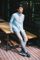Style ▸ ORIGINAL // Men shirt // Straight fit - Small collar   Embroidery ▸ Origami ladybug  Color ▸ Green  Material ▸ Made of 100% cotton, high quality and comfortable to wear. Decorated with Genuine wooden buttons and chest embroidery.  Model ▸ is wearing size S  Size chart ▸ https://dl.dropboxusercontent.com/u/66218545/pk_size_straight-01.jpg  Made by ✂ Imported fabric mostly from Japan and Korea, Manufacturing in Thailand  ----------------------------------------------------------------  ⟁⟁⟁⟁ ABOUT SHIPMENT ⟁⟁⟁⟁  ทางร้านจัดส่งสินค้าทุกวันอังคาร และศุกร์ โดยประมาณนะคะ เนื่องจากสินค้าบางชิ้นมีของอยู่ที่หน้าร้าน ทางจตุจักรเปิดให้เข้าในวันธรรมดาเพียงไม่กี่วัน ดังนั้นจึงจะต้องขอเวลาเข้าไปเอาสินค้า และจัดส่งเป็นอีกวันนึงแทนค่ะ  หากลูกค้ารีบใช้สินค้า เนื่องในโอกาสพิเศษต่างๆ ที่จำเป็นต้องได้รับสินค้าภายในวันที่กำหนดเท่านั้น ทางร้านต้องขอรบกวนสั่งสินค้าล่วงหน้าอย่างน้อย 1 สัปดาห์นะคะ สามารถกดสั่งซื้อ และกดส่งข้อความทางเวบไซต์เพื่อสอบถามได้เลย   ขอบคุณค่ะ :)