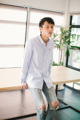 Style ▸ ORIGINAL // Men shirt // Straight fit - Small collar   Embroidery ▸ Origami ladybug  Color ▸ White-blue check  Material ▸ Made of 100% cotton, high quality and comfortable to wear. Decorated with Genuine wooden buttons and chest embroidery.  Model ▸ is wearing size S  Size chart ▸ https://dl.dropboxusercontent.com/u/66218545/pk_size_straight-01.jpg  Made by ✂ Imported fabric mostly from Japan and Korea, Manufacturing in Thailand  ----------------------------------------------------------------  ⟁⟁⟁⟁ ABOUT SHIPMENT ⟁⟁⟁⟁  ทางร้านจัดส่งสินค้าทุกวันอังคาร และศุกร์ โดยประมาณนะคะ เนื่องจากสินค้าบางชิ้นมีของอยู่ที่หน้าร้าน ทางจตุจักรเปิดให้เข้าในวันธรรมดาเพียงไม่กี่วัน ดังนั้นจึงจะต้องขอเวลาเข้าไปเอาสินค้า และจัดส่งเป็นอีกวันนึงแทนค่ะ  หากลูกค้ารีบใช้สินค้า เนื่องในโอกาสพิเศษต่างๆ ที่จำเป็นต้องได้รับสินค้าภายในวันที่กำหนดเท่านั้น ทางร้านต้องขอรบกวนสั่งสินค้าล่วงหน้าอย่างน้อย 1 สัปดาห์นะคะ สามารถกดสั่งซื้อ และกดส่งข้อความทางเวบไซต์เพื่อสอบถามได้เลย   ขอบคุณค่ะ :)