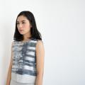 """Morning Dawn Sleeveless"" - 1,450 Baht  S : bust (อก) - 32""  M : bust (อก) - 34""  L : bust (อก) - 36""  #women #ผู้หญิง #เสื้อผ้าผู้หญิง #เสื้อคอกลม #เสื้อแขนกุด"