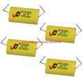 รุ่น : Capacitor / 250V 4.7uF ราคาปกติ :  299.00 บาท       ราคาพิเศษ :  160.00บาท รายละเอียดย่อ : ตัวกันขาดเสียงแหลม Capacitor / 250V 4.7uF 4pcs Divider Non-Polar Capacitor / Polypropylene Capacitor / Axial Audio Tweeter Capacitor Specification Name: non-polar capacitor, axial capacitor, polypropylene capacitor, speaker audio capacitor. Model: 250V4.7uF Capacity: 4.7uF Voltage: 250V Deviation: 6% Capacitive Flat Column Width: 16mm Length: 36mm Height: about 12mm Description: This capacitor is polypropylene film capacitor, audio-specific capacitor, transmission speed, High pressure, long-term use will not change the value of the capacity. Application: Used in a stereo crossover, tweeter, amplifier couple and so on. Package including Capacitor x 4 - See more at: http://www.mynke.com/ id line 0954280188 https://www.facebook.com/mynkeshop/