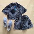 🌙เซต(เสื้อ+กางเกง)ผ้าใส่สบาย เสื้อ อกฟรีไซต์ ยาว18 กางเกง เอวฟรีไซต์ สะโพกฟรีไซต์ ยาว12 สี ขาว,กรม,ดำ,เทา #เซตลายผ้าเช็ดหน้า #syyshop