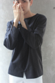 Description: เสื้อแขนยาว เนื้อผ้าลินิน เป็นทรงสวย ทอละเอียด ระบายอากาศดี ใส่ได้ทุกสภาพอากาศ ดีเทลหลักอยู่ที่รอยผ่าที่ปลายแขนและตรงกลางชายเสื้อ ให้ลุคเรียบหรูสุดๆ  Color: White | Black  Fabric: Cotton Linen  Size:   (1) Size S: รอบอก 37 นิ้ว ความยาวเสื้อ 26.5 นิ้ว  (2) Size M-L: รอบอก 41 นิ้ว ความยาวเสื้อ 27 นิ้ว  (3) Size XL: รอบอก 45 นิ้ว ความยาวเสื้อ 29 นิ้ว  Price: 790 บาท  ค่าจัดส่งแบบลงทะเบียน 30 บาท  ค่าจัดส่งแบบด่วนพิเศษ EMS 50 บาท