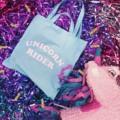 💕💕New arrivals✨✨✨Unicorn rider! Tote bag🎉 /250THB/ color : pink/blue💕  #Unicorn rider tote bag #daddy_academy