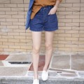 """[ สไตล์เสื้อผ้ารับSUMMER🌴✨ SHOPเลย ] EG401 : กางเกงยีนส์ขาสั้นมีกระเป๋าทั้งหน้าและหลัง ชายขาพับ เนื้อผ้ายีนส์หนามีคุณภาพ ทรงน่ารัก ใส่กับเสื้อเข้าทุกแบบ SIZE : รอบต้นขา 20-21"""" S เอว 24"""" สะโพก 32"""" M เอว 26"""" สะโพก 34"""" L เอว 28"""" สะโพก 36"""" COLOR : ยีนส์น้ำเงินเข้ม  PRICE : 350 บาท #EG401 : กางเกงยีนส์ขาสั้น #frameiiz"""