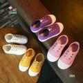 รองเท้าเด็กแฟชั่นพร้อมส่ง รองเท้าผ้าใบลำลอง สีสันสดใส หลากหลายสี ไม่ต้องผูกเชือก สวมง่ายสบายเท้า น่ารักมากมายคะ  มี 4 สี ขาว , ชมพู ,ม่วง,เหลือง  สูงหน้า 2 ซม. , ส้นสูง 2.3 ซม. รหัสสินค้า : KS42064 ราคาส่ง 390.- บาท  (EMS+ 70 บาท )  ** ตารางไซส์วัดจากความยาวเท้าน้องได้เลยค่ะ ** Size 26 = 16 ซม. Size 27 = 17 ซม. Size 28 = 18 ซม. Size 29 = 18.5 ซม. Size 30 = 19 ซม. 🎀วิธีสั่งซื้อ🎀 👉ก้อปรูปพร้อมราคาส่งมาที่  Line🆔 : Vivifullshops 📲 http://line.me/R/ti/p/~vivifullshops 👍💕💕💕💕💕💕💕💕💕💕💕👍  🚚 จัดส่งสินค้าทุกวันจันทร์ ถึง ศุกร์คะ แจ้งโอนวันนี้ ส่งวันถัดไป ลทบ. 2-5 วันทำการ 👉Ems 1-3 วันทำการ จะช้าหรือเร็วขึ้นอยู่กับระยะทางๆ  และการทำงานของเจ้าหน้าที่  * ทางร้านไม่รับเปลี่ยนคืนสินค้านะคะ ยกเว้นจัดส่งผิดแบบ  #รองเท้า #รองเท้าแฟชั่น #รองเท้าผ้าใบ #นำเข้า #พร้อมส่ง #พรีออเดอร์ #ราคาส่ง #ปลีก #ลดราคา #ตามหา #รับตัวแทน #shoes #Sale #สต๊อกเอง #ถูกชัวร์ #vivishoes