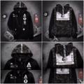 Preorder รอของ 15-20 วัน Size M ไหล่43 อก106 ยาว63 L ไหล่45 อก110 ยาว64 XL ไหล่47 อก114 ยาว65 #sweater#hoodie#เสื้อกันหนาว#streetstyle#hiphop#เสื้อชาย#เสื้อกันหนาวชาย #manmashop