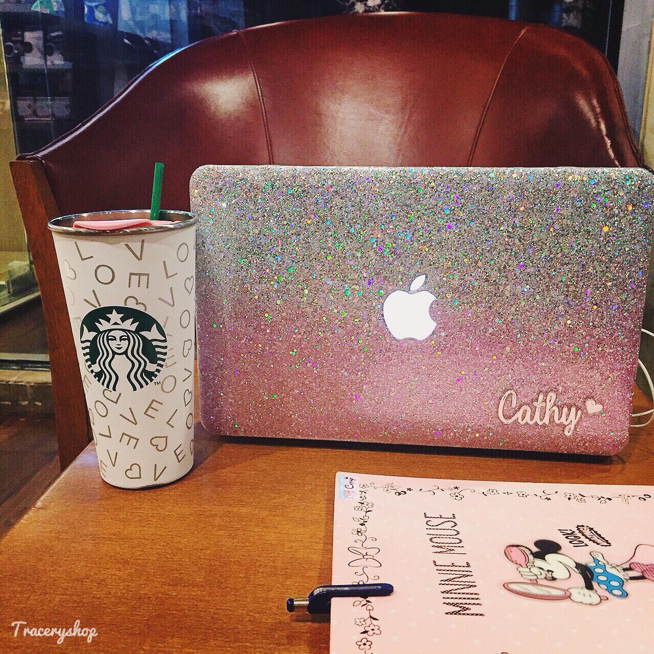 Macbook,Macbookcase,MacBookPro,Macbookair,Macbookretina,glitter,Glittercase,เคสกลิตเตอร์,เคสกากเพชร,เคสแม็คบุ๊ค,Macbookglittercase,Hologram,traceryshop,Pink,Galaxy