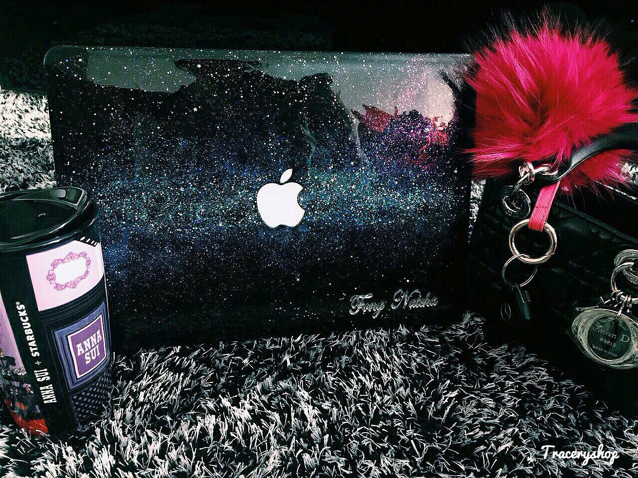 Macbook,Macbookcase,MacBookPro,Macbookair,Macbookretina,glitter,Glittercase,เคสกลิตเตอร์,เคสกากเพชร,เคสแม็คบุ๊ค,Macbookglittercase,Hologram,traceryshop,Pink,Galaxy