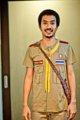 """Boy Scout T-shirt เสื้อยืดลูกเสือสามัญ Unisex สำหรับชายและหญิง  ผ้า Cotton 100%  Available Size : (ขนาดโดยประมาณ) S : รอบอก 34"""" ยาว 21.5"""" M : รอบอก 38"""" ยาว 22.5"""" L : รอบอก 40"""" ยาว 23.5""""  XL : รอบอก 42"""" ยาว 24.5""""  XXL : รอบอก 44"""" ยาว 25.5""""   Size + Fit นายแบบใส่เสื้อไซส์ M  Note สีเสื้อในรูปอาจจะแตกต่างจากสีเสื้อจริง จัดส่งสินค้าทุกวันพุธ และวันอาทิตย์ ขนาดเสื้อจากชาร์ตรูปเป็นขนาดโดยประมาณ"""